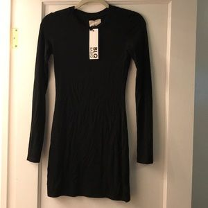 New with tags, Black Long Sleeve Dress, Size 0